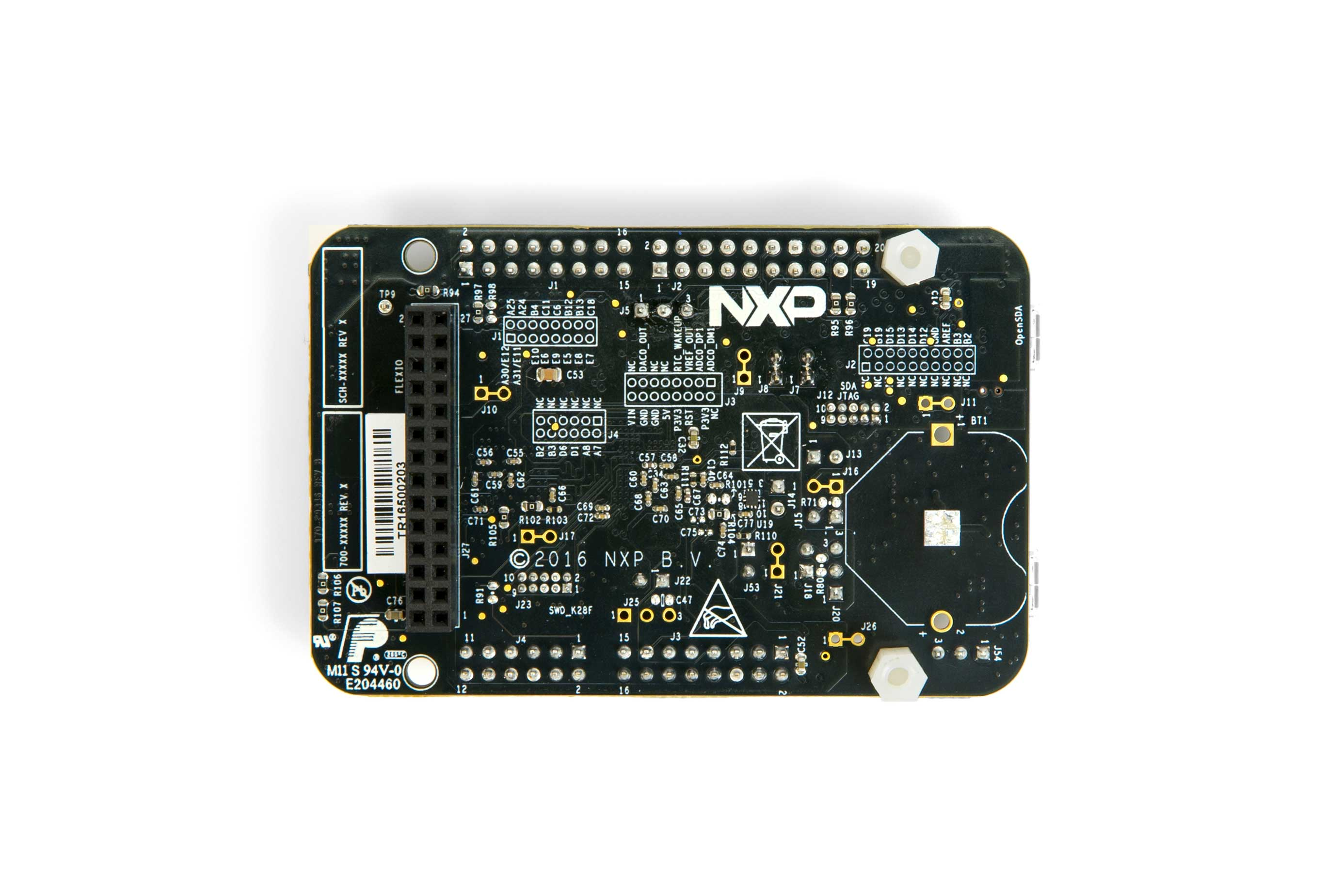 FRDM-K28F Freedom Development Board – Bottom Side