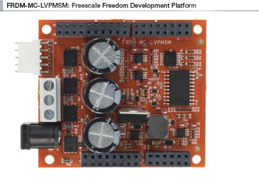 NXP<sup&gt;&amp;#174;</sup&gt; Freedom Development Platform for Low-Voltage, 3-Phase PMSM Motor Control