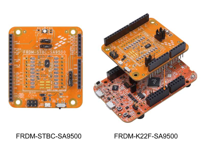 FRDM-STBC-SA9500 Sensor Shield Development Board and FRDM-K22F-SA9500 Demonstration Kit