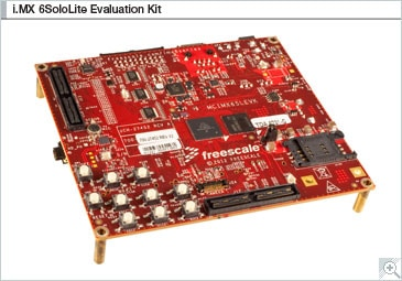 i.MX 6SoloLite Evaluation Kit Block Diagram
