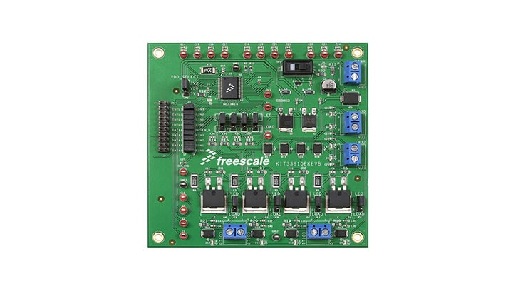 KIT33810EKEVB : Evaluation Board - MC33810EK, Automotive Engine Control IC thumbnail