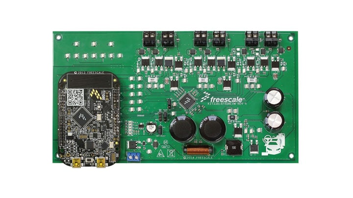 KIT33816FRDMEVM : KIT33816FRDMEVM: Evaluation Kit - MC33816, SD6 Programmable Solenoid Controller with Freedom KL25Z thumbnail