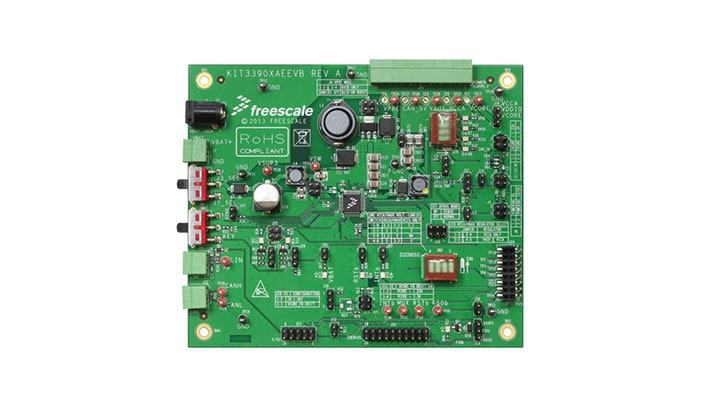 KIT33907AEEVB : Evaluation Board - MC33907, Safe  DC/DC up to 800 mA thumbnail