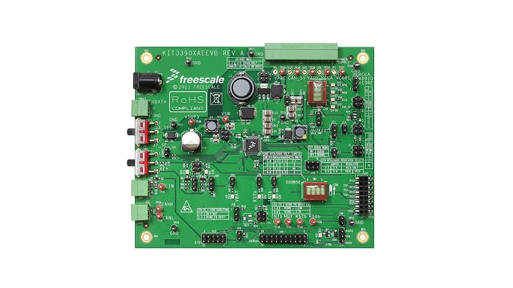 KIT33908AEEVB : Evaluation Board - MC33908, Safe DC/DC up to 1.5 A thumbnail