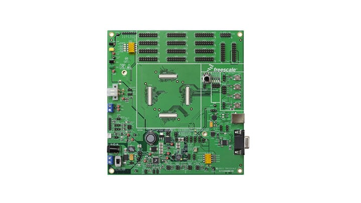Evaluation mother board - MC33908, Safe System Basis Chip