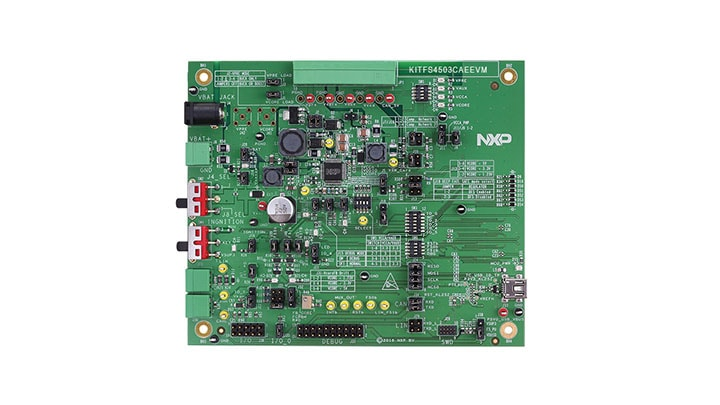 KITFS4503CAEEVM Evaluation Board for FS4500 - Block Diagram