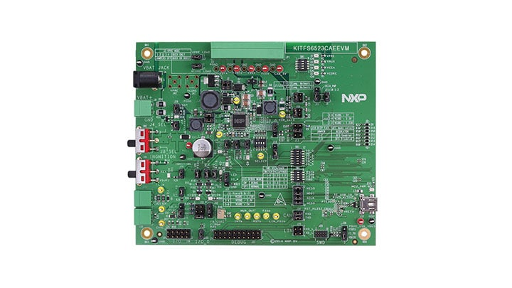 KITFS6523CAEEVM Evaluation Board for FS6500 - Block Diagram