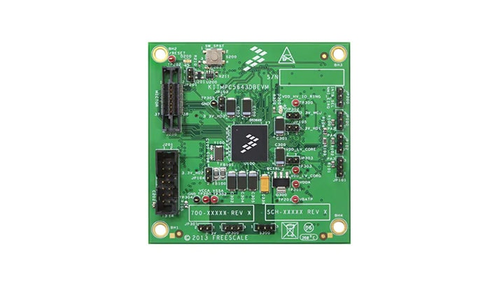 Evaluation daughter board - MPC5643L, 32-bit Microcontroller