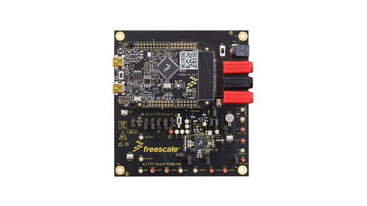 KITPF3000FRDMEVM : Evaluation Kit for PF3000/1 Power Management Integrated Circuit  thumbnail