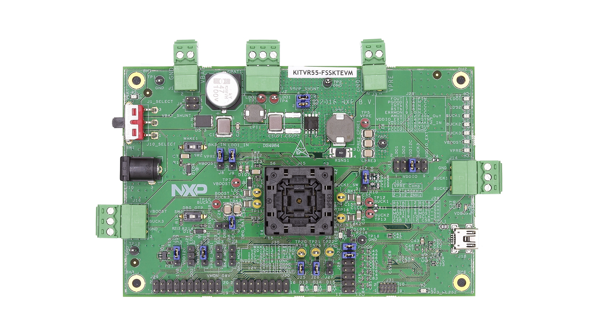 KITVR55-FSSKTEVM | VR5500 Safety SBC Programming Board