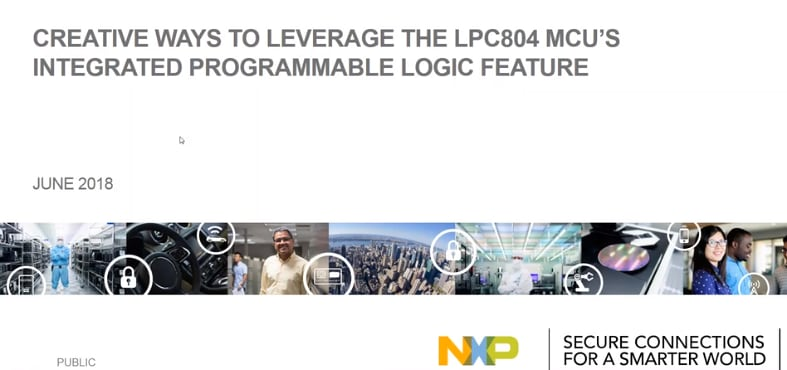 Part II: Creative ways to leverage the LPC804 MCU's integrated programmable logic feature