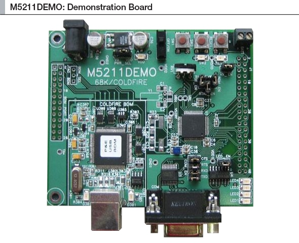 M5211DEMO : MCF5211 Demonstration Board thumbnail