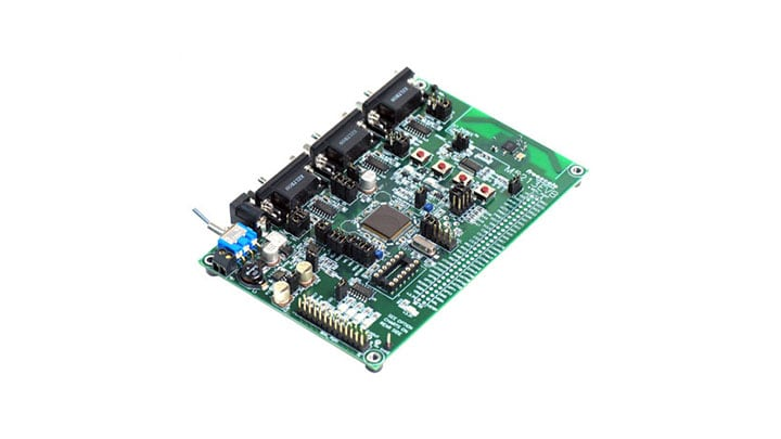 MCF5213 Evaluation Board Image