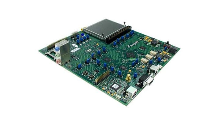MCF52277 Evaluation Board Image