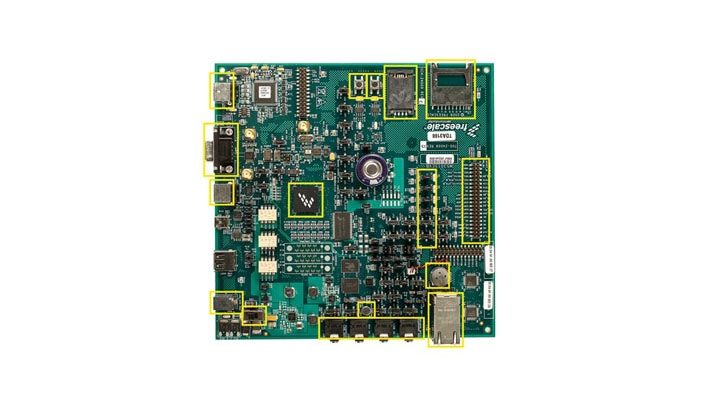 MCF5301x Evaluation Board Image