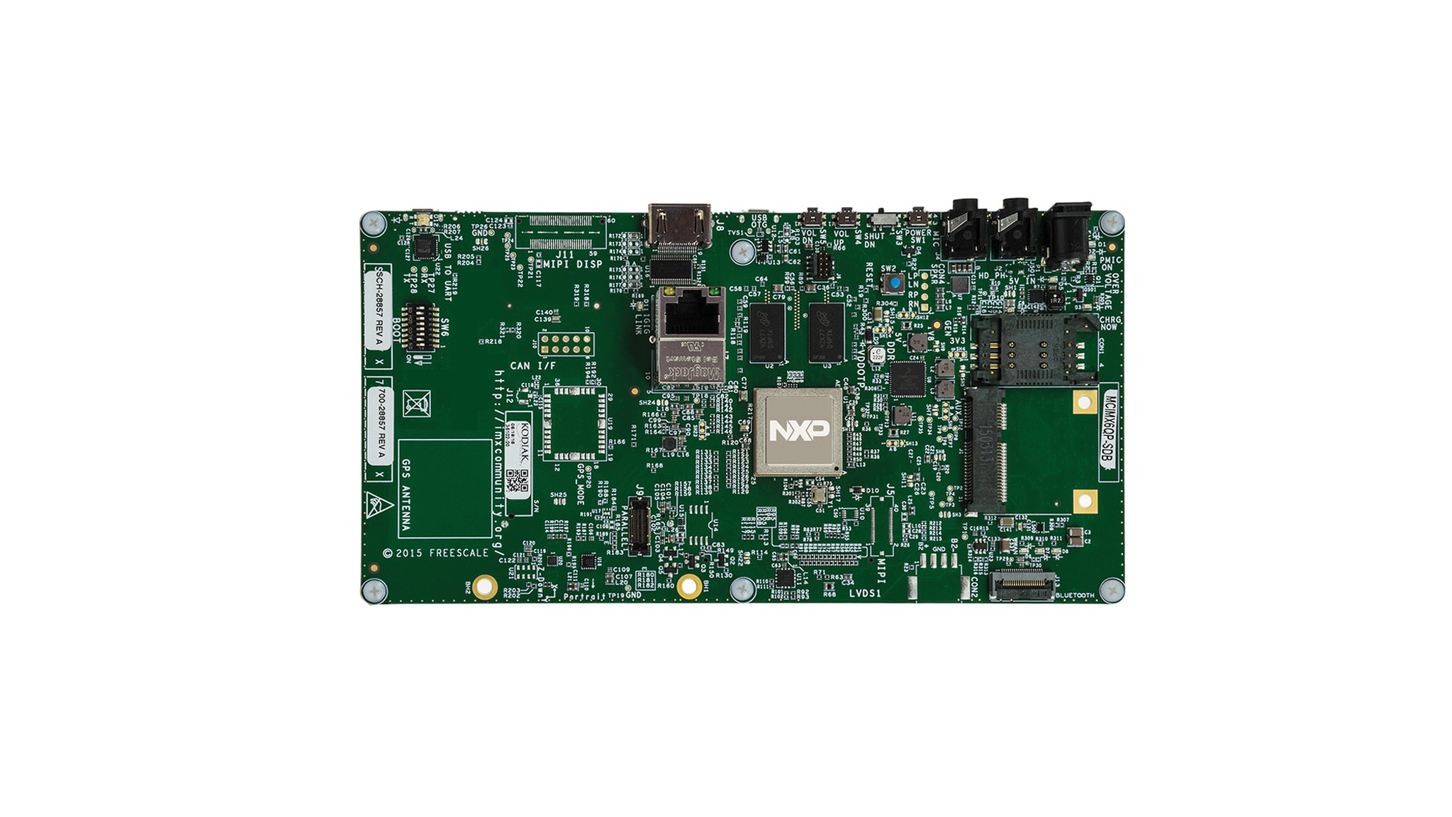 RD-IMX6Q-SABRE : SABRE Board for Smart Devices Based on the i.MX 6Quad Applications Processors thumbnail