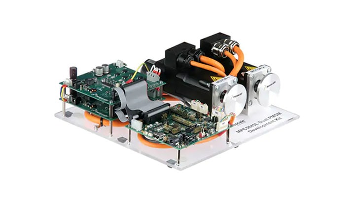 Dual 3-phase PMSM Development Kit with NXP MPC5643L MCU Image