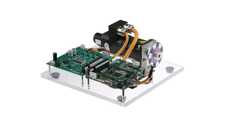 3-phase PMSM Development Kit with NXP MPC5604P MCU