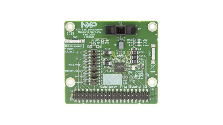 TJA1100HN: Evaluation Board, TJA1100HN 100BASE-T1 PHY Transceiver