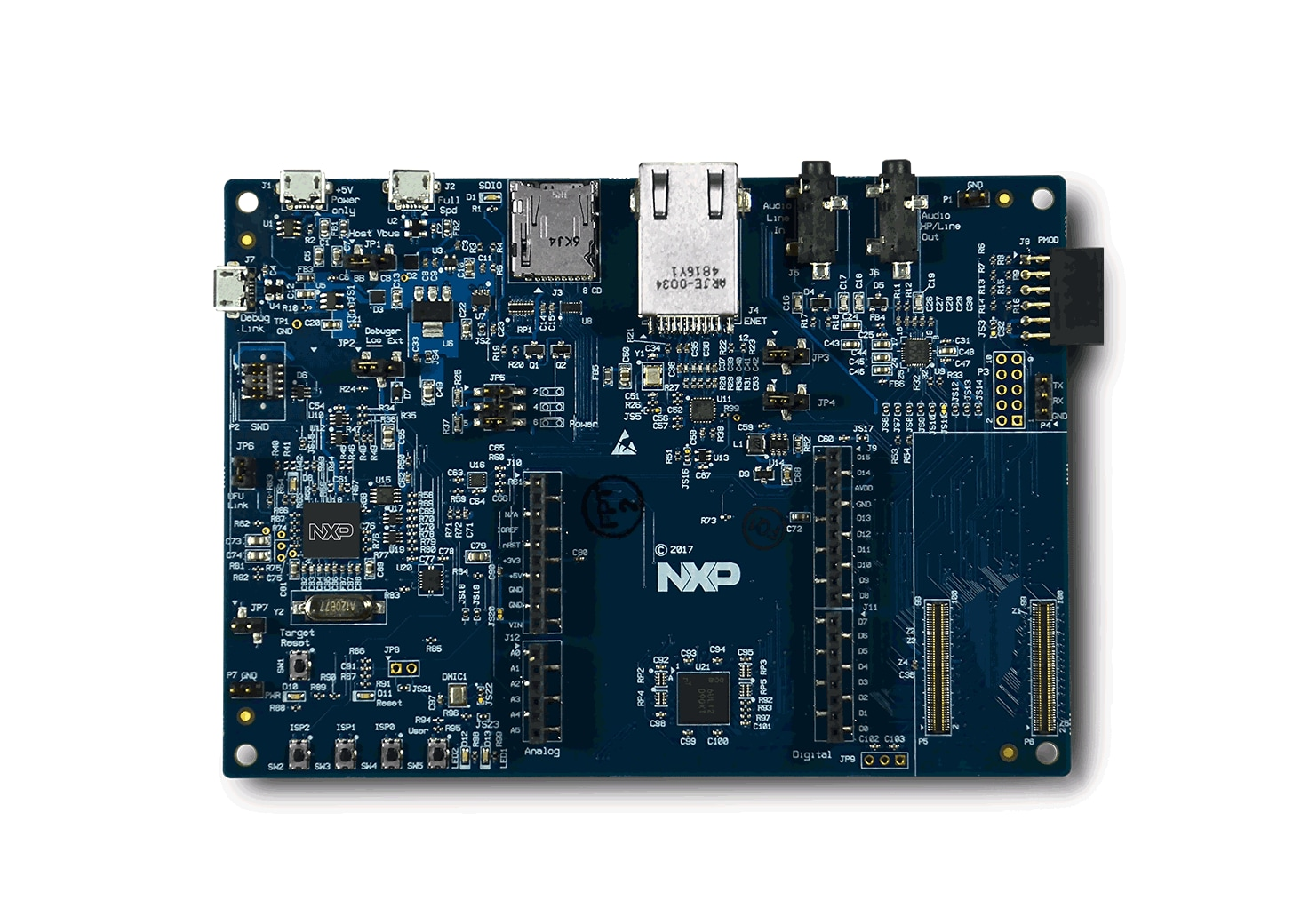 OM40006 Base Board (top)