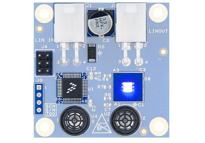 S12zvl Lin Ultrasonic Distance Measurementnxp