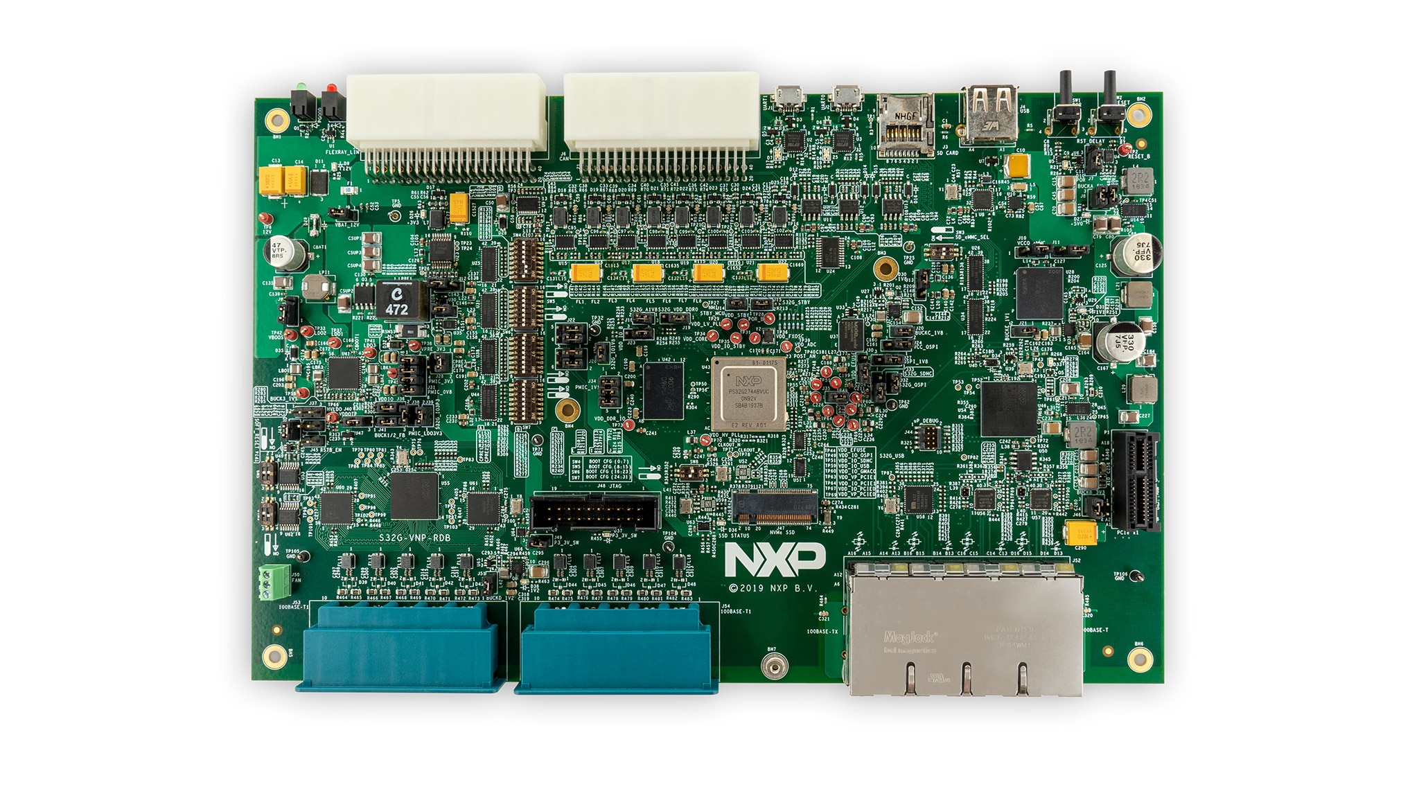 S32G-VNP-RDB reference design board – no enclosure