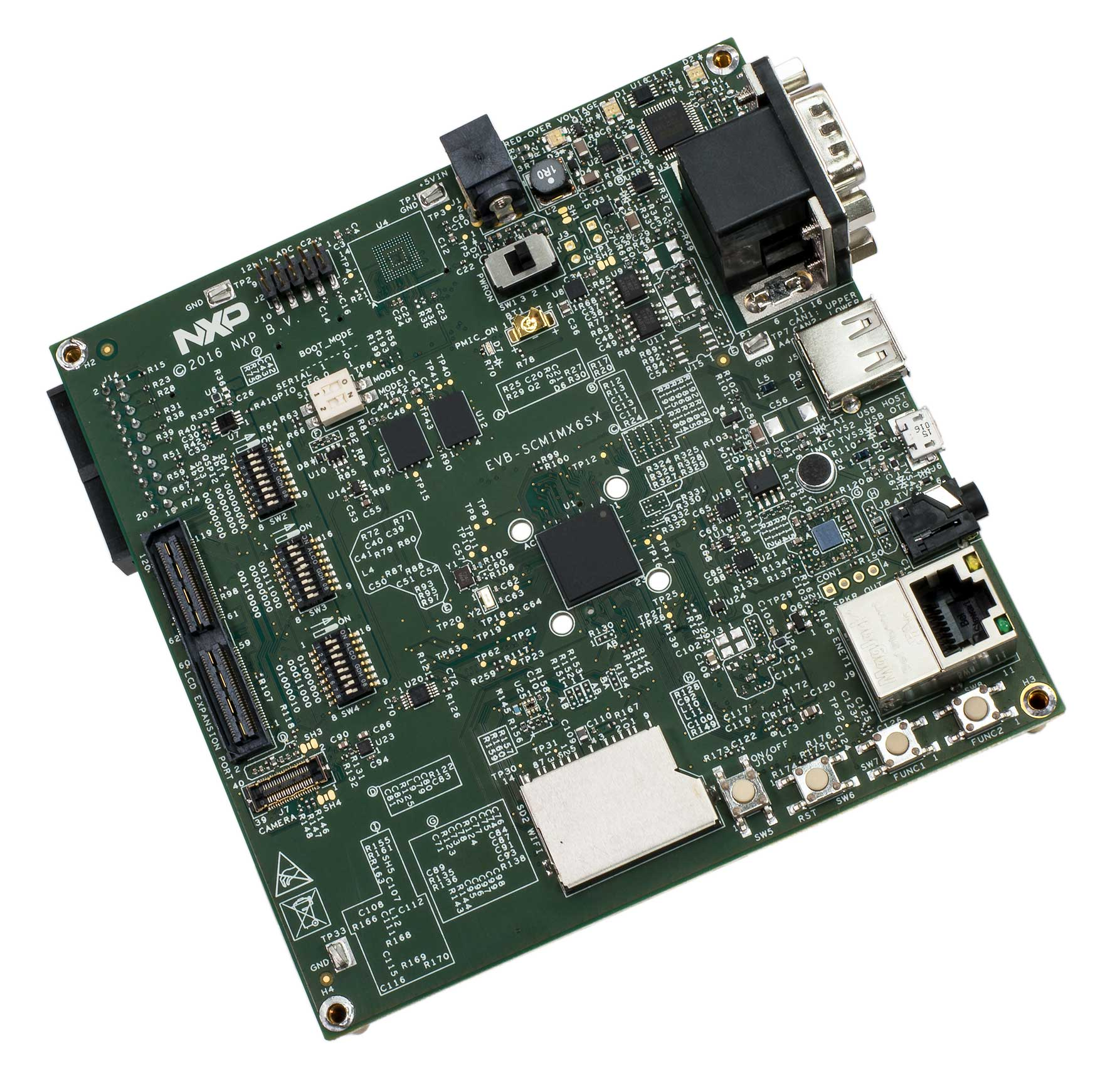 SCM i.MX 6SX Evaluation Board Angle
