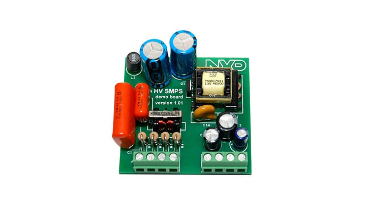 TEA1721ADB1062 : TEA1721 Isolated 3-Phase Universal Mains Flyback Converter Demo Board thumbnail