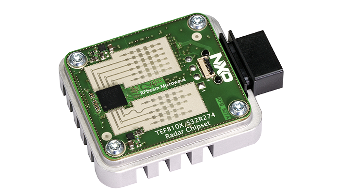 TEF810X Fully-Integrated 77 GHz Radar Transceiver | NXP