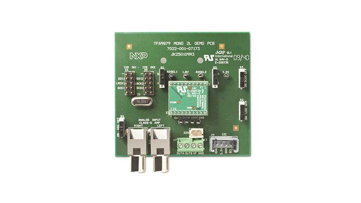 TFA9879D: Digital-in Class-D audio amplifier demonstration kit | NXP