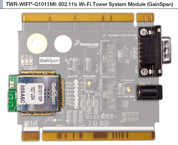 NXP<sup>&#174;</sup> Tower<sup>&#174;</sup> TWR-WIFI-G1011MI Evaluation Board