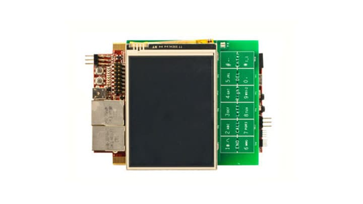 MPC830x-TLCD LCD Display Module for the TWR-MPC830x Module
