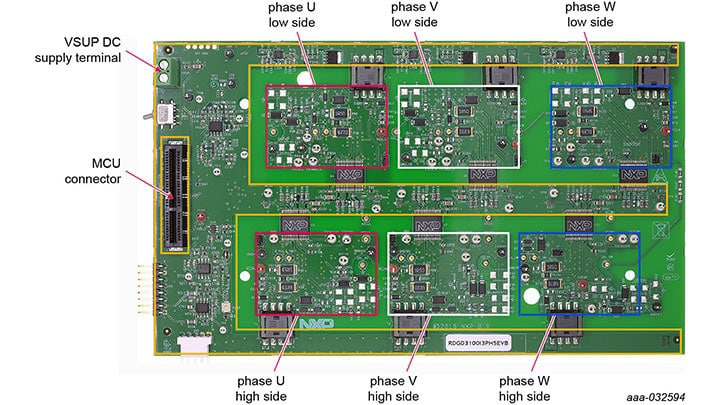 3-Phase Reference Design for HybridPACK™ Drive IGBT/SiC Module featuring GD3100