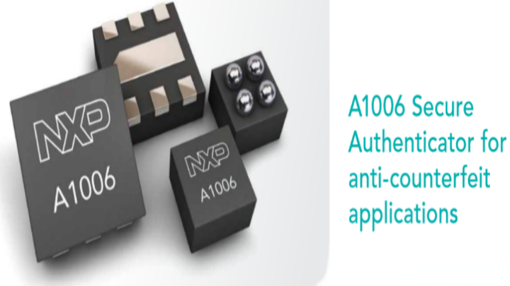 A1006 Secure Authenticator for anti-counterfeit applications