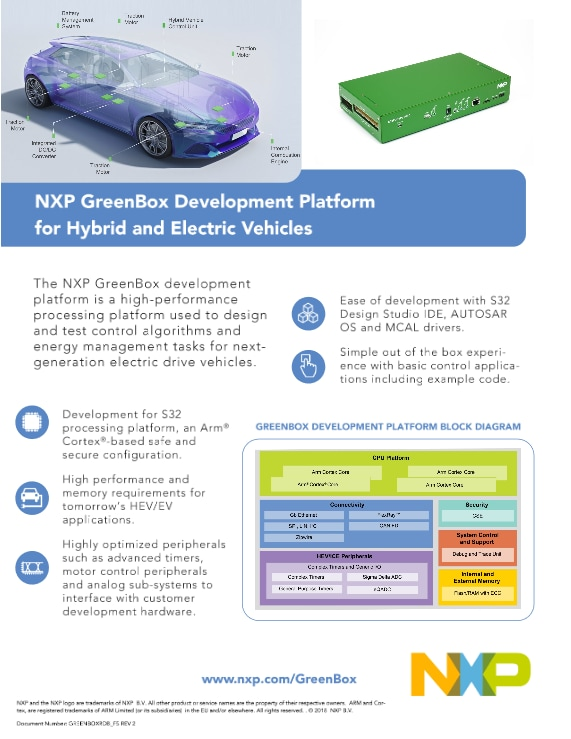 NXP GreenBox Development Platform for Hybrid and Electric Vehicles - Image