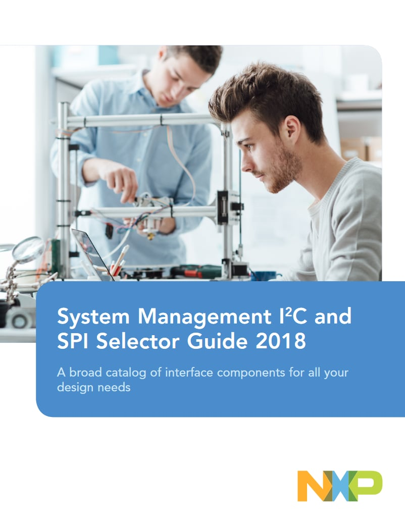 System Management I2C and SPI Selector Guide 2018 Image