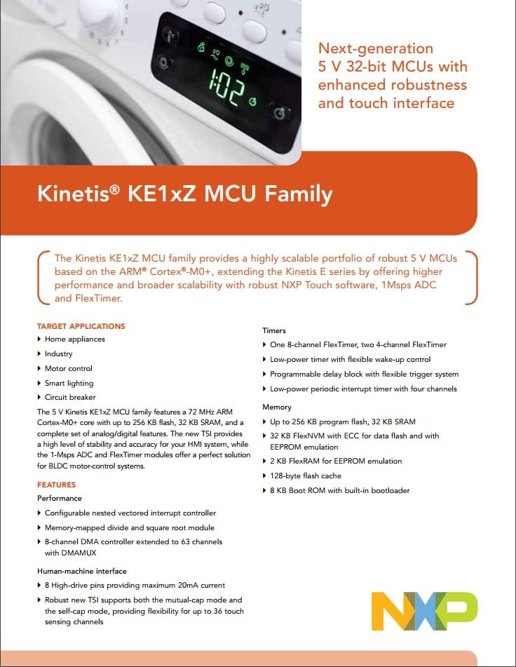 Kinetis® E Series: 5V, Robust Microcontrollers (MCUs) based