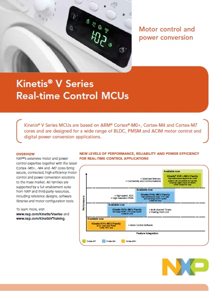 Kinetis V Series Fact Sheet
