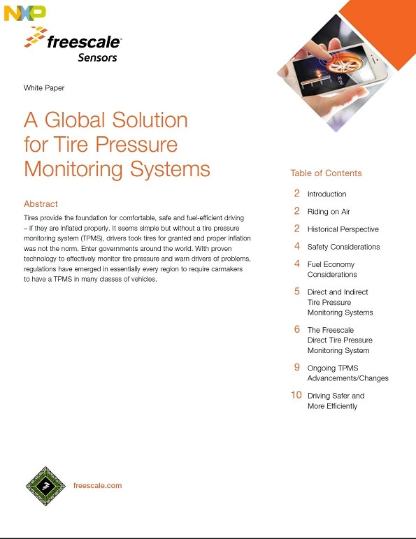 A Global Solution for Tire Pressure Monitoring Systems