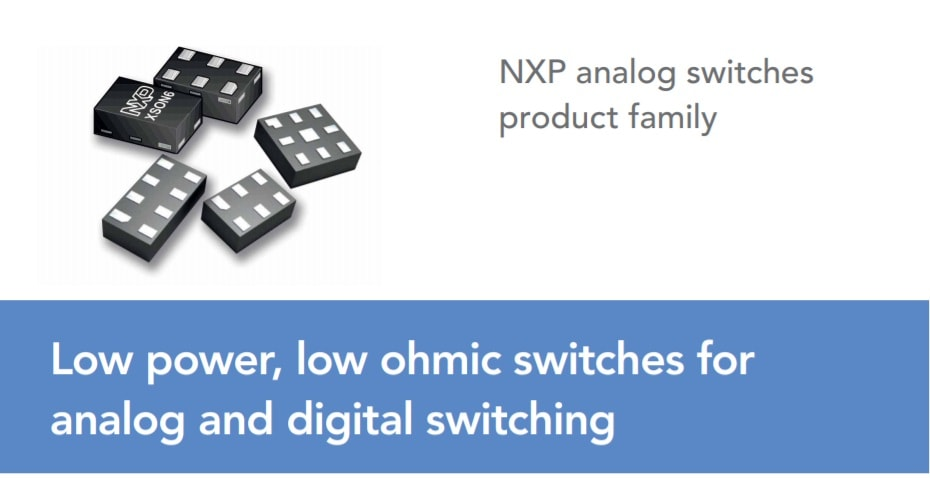 NXP analog switches