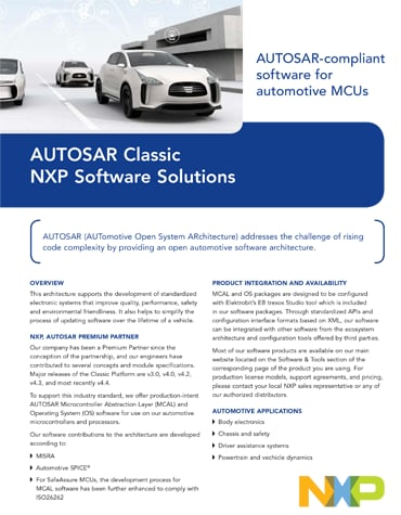 AUTOSAR Software Architecture | NXP