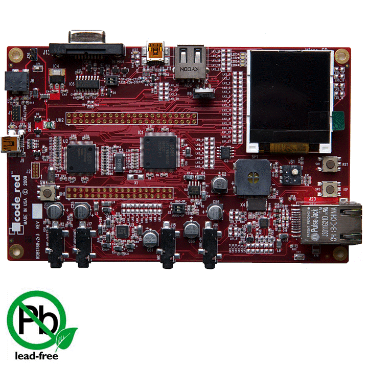 CodeRed LPC1768 Eval Board PIC