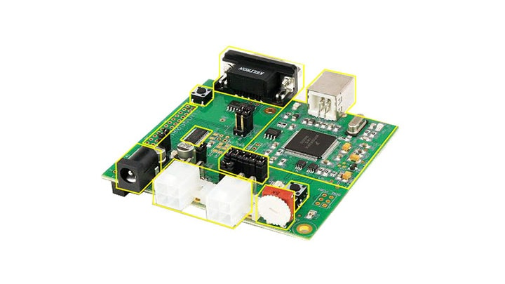 Demonstration board for the S08EL/SL device for Automotive applications Image
