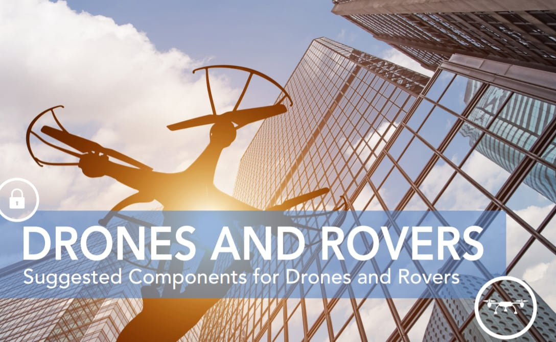 drones and rovers