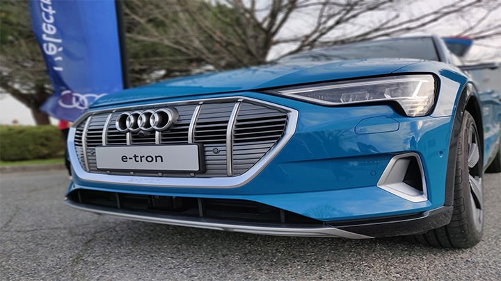 Audi E-tron and NXP img