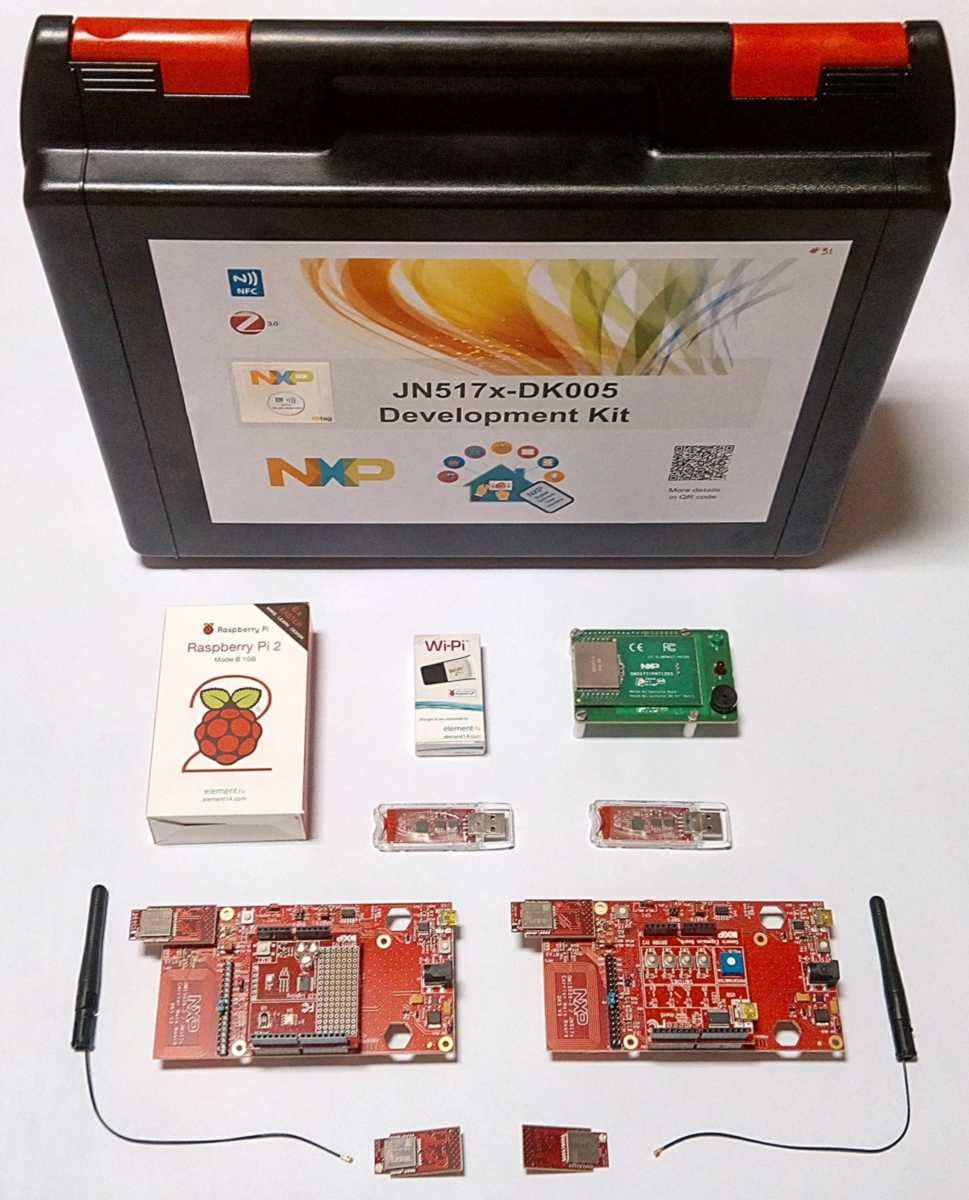 JN517x Development Kit with NFC Commissioning