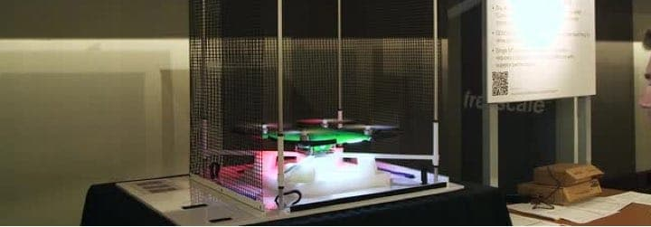 Quadcopter Demonstrating UAV Speed Control