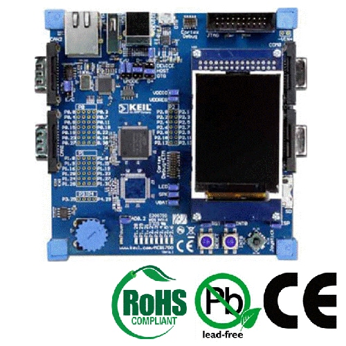 OM11036 : Keil LPC1758 Evaluation Board thumbnail