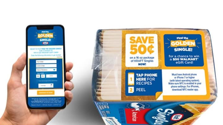 NFC Gets Cheesy with Kraft Singles image