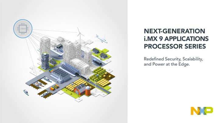 NXP's Next-Generation i.MX 9 Applications Processors Redefine Security and Productivity at the Edge